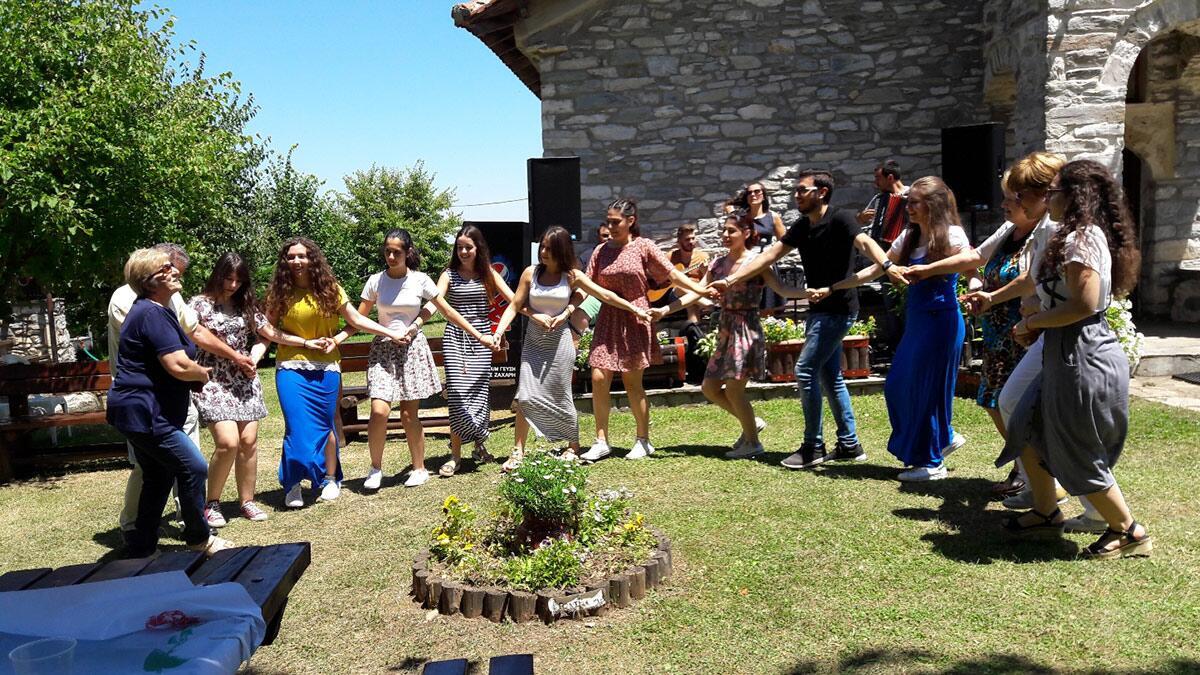 Προσκύνημα φοιτητών Πιερίας