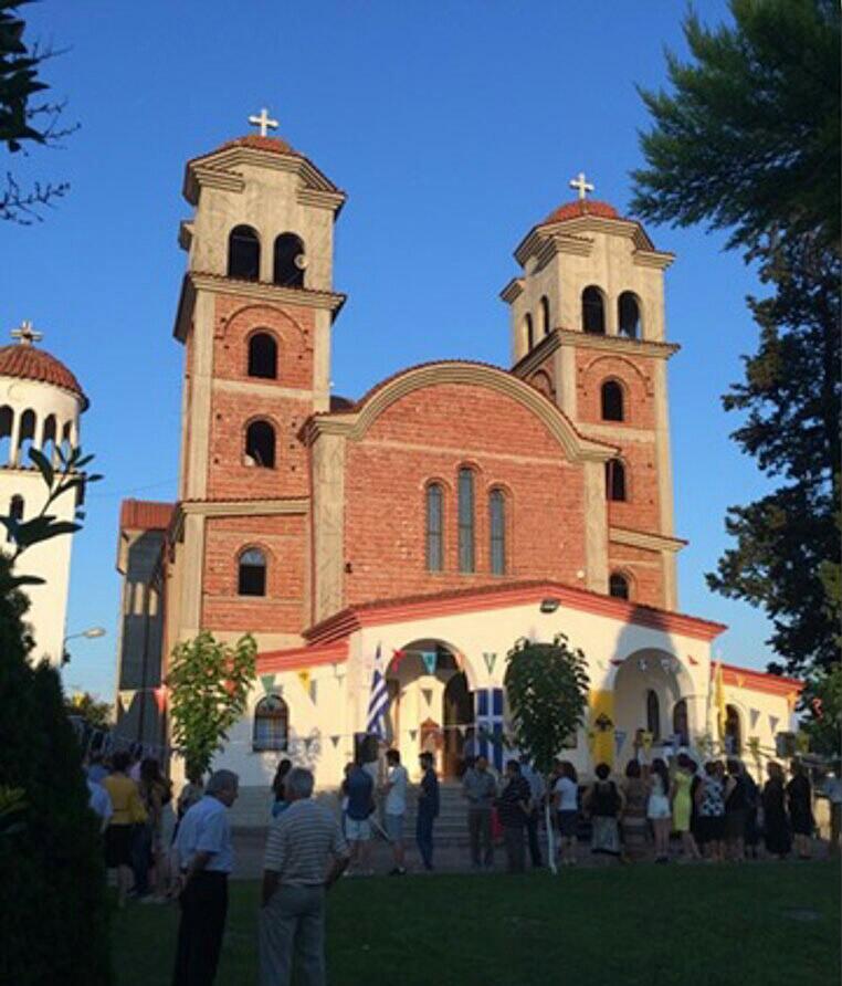 Ενοριακός Ναός του Αγίου Παϊσίου