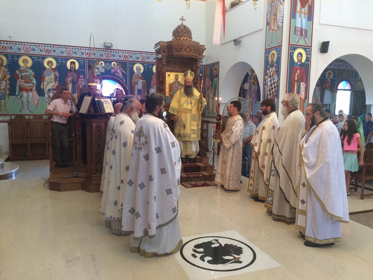 Ναός Αγίου Παϊσίου