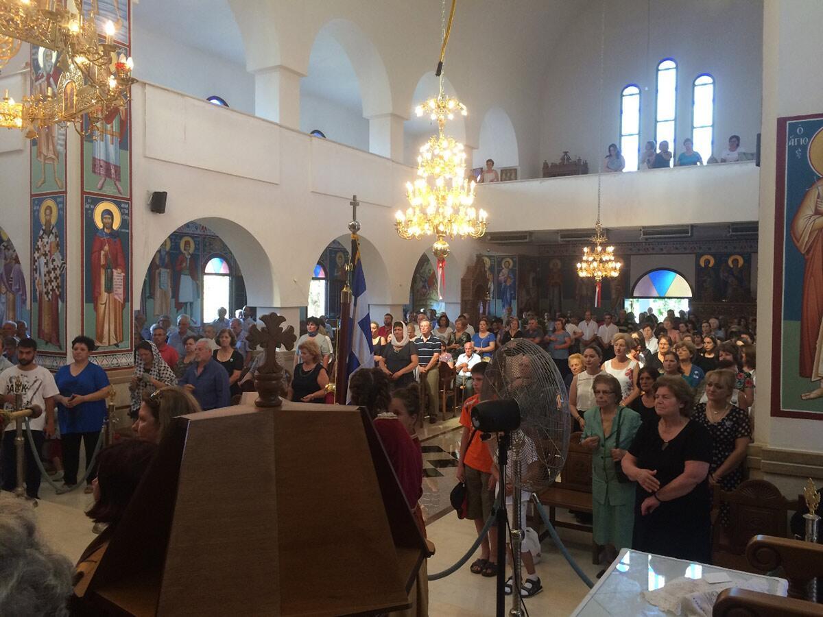 Ενοριακός Ναός Αγίου Παϊσίου γιορτή