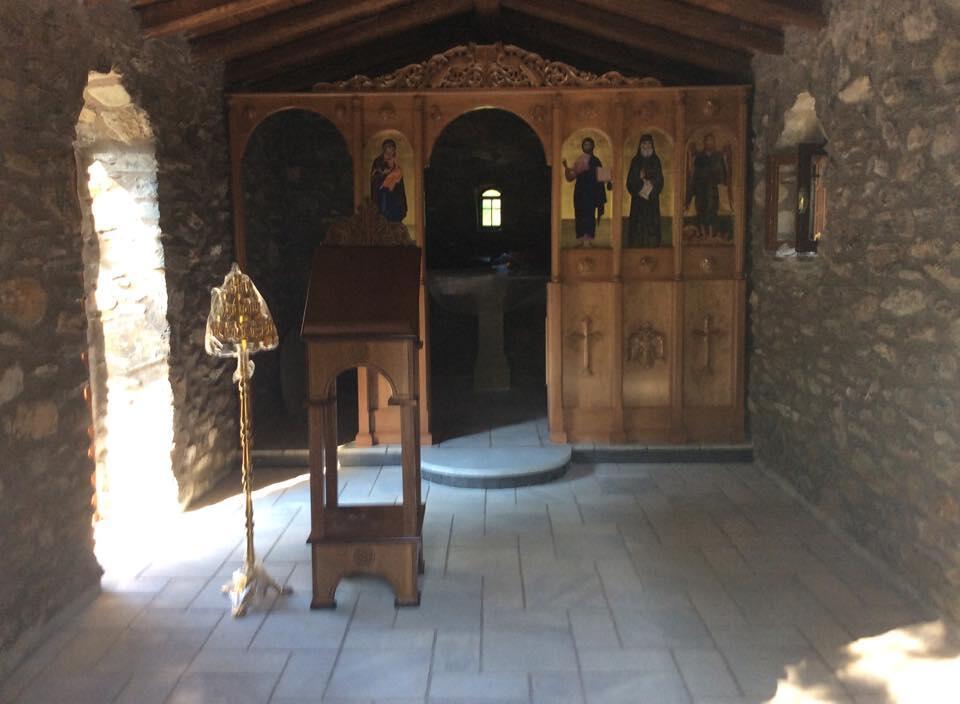 θυρανοίξια αγίου παϊσίου μεσσηνίας