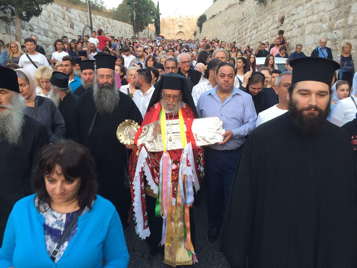 Προσκύνημα της Ιεράς Μητρόπολης Κίτρους στους Αγίους Τόπους