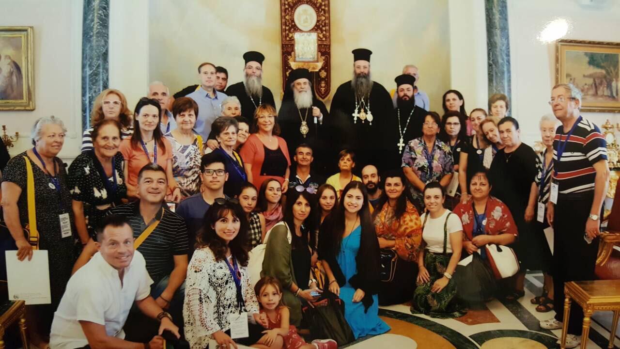 Προσκύνημα Ιεράς Μητρόπολης Κίτρους Αγίους Τόπους