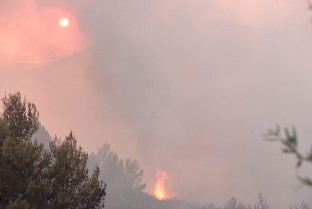 Τούρκος επιχειρούσε να βάλει φωτιά κοντά στην Εγνατία Οδό