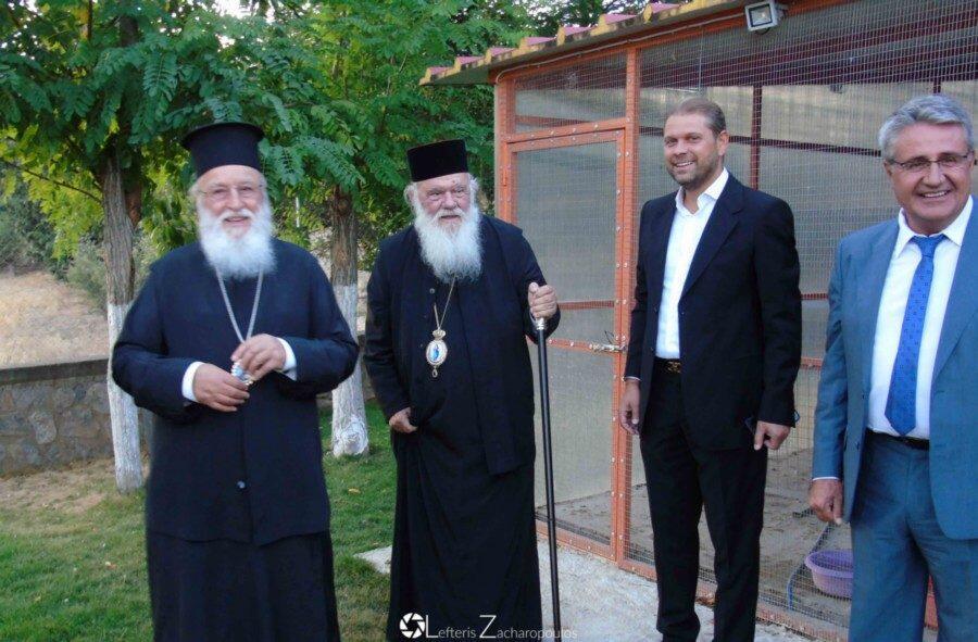 Αρχιεπίσκοπος Ιερώνυμος Μητροπολίτης Κυνουρίας Αλέξανδρος
