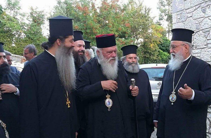 Αρχιεπίσκοπος Ιερώνυμος Κυνουρίας Αλέξανδρος