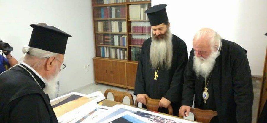 Ο Αρχιεπίσκοπος Μαντινείας