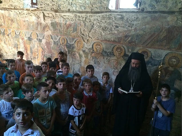 φιλοξενία παιδιών Ιερά Μονή Αγίου Γεωργίου Ρητίνης