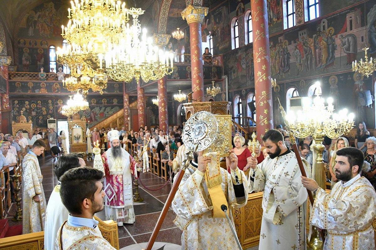 Κοίμηση της Θεοτόκου Ιερά Μητρόπολη Κίτρους