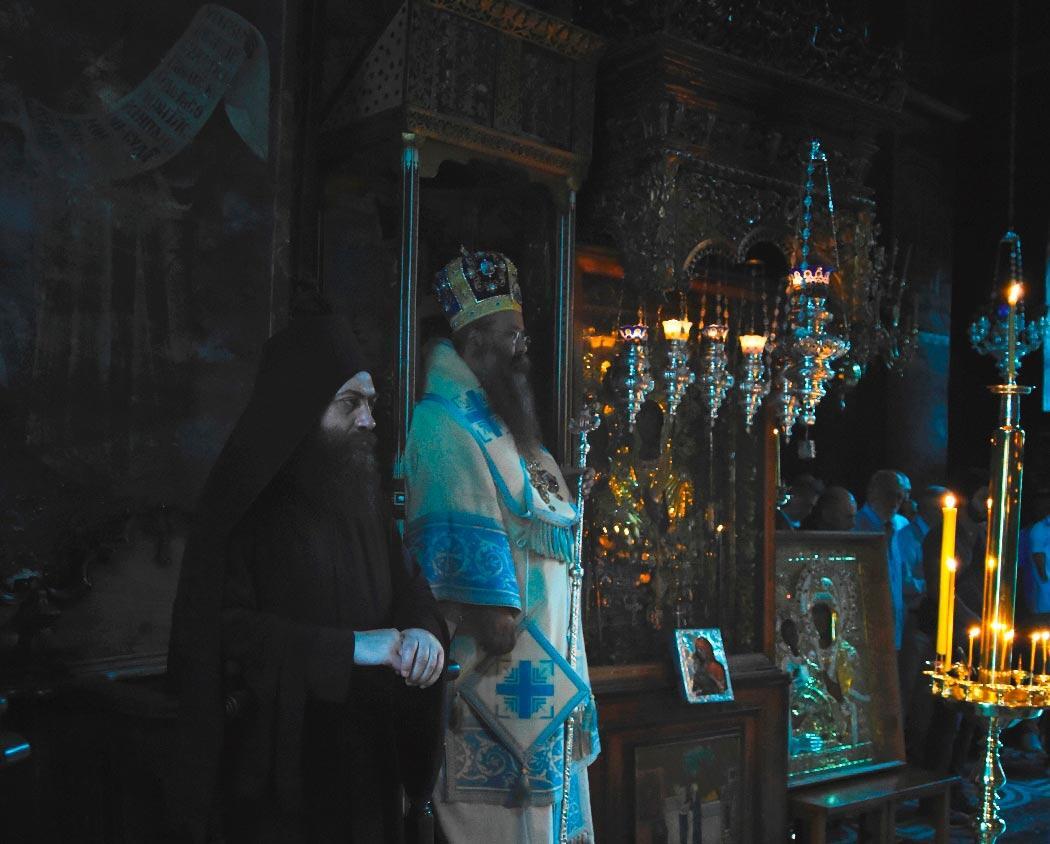 Παναγία Τριχερούσα Μονή Χιλανδαρίου