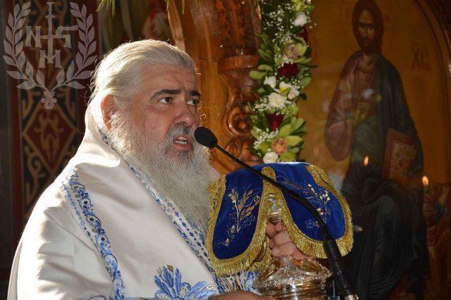 Νεαπόλεως Βαρνάβας: «Το Ορθόδοξο Γένος καταφεύγει στην Παναγία» ΦΩΤΟ