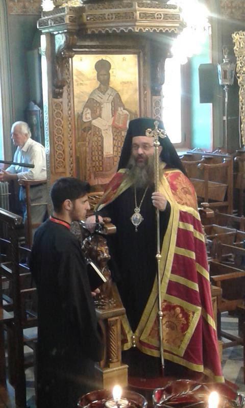 Χειροθεσία Αρχιδιάκονου Ιερά Μητρόπολη Χίου