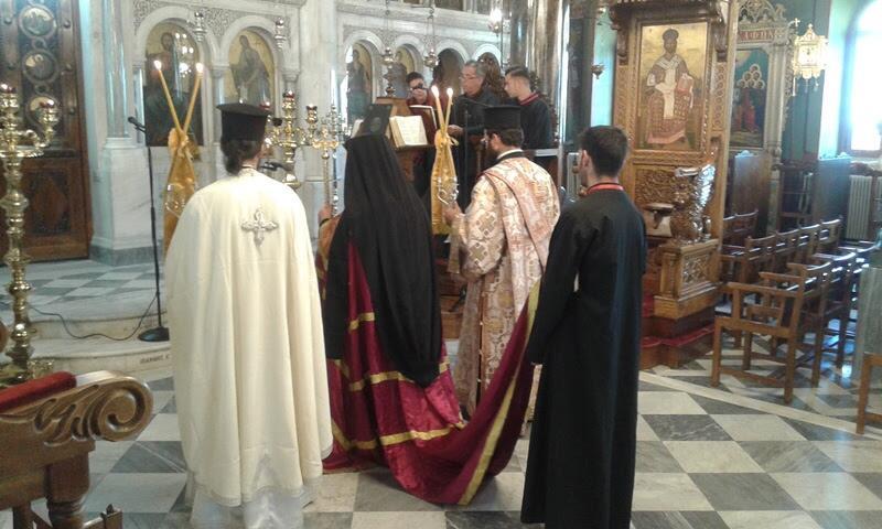 Χειροθεσία Αρχιδιάκονου στην Ιερά Μητρόπολη Χίου