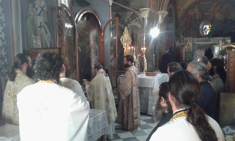 Χειροθεσία Ιερά Μητρόπολη Χίου