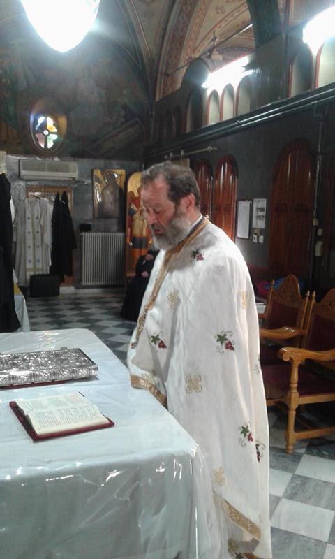 Χειροθεσία Αρχιδιάκονου στην Μητρόπολη Χίου