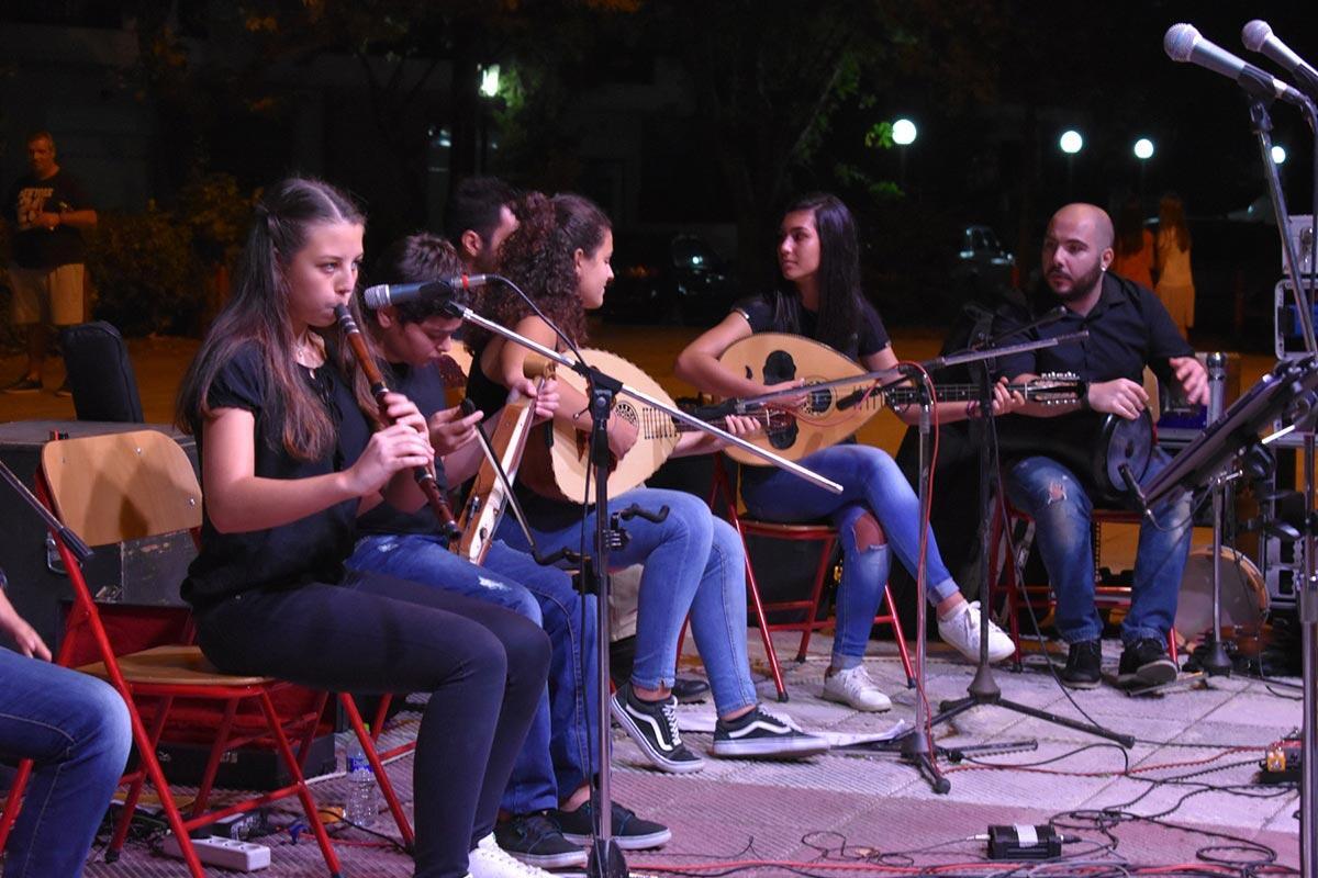 Μουσική πανδαισία στη συναυλία της Σχολής Βυζαντινής Μουσικής και Παραδοσιακών Οργάνων της Ιεράς Μητρόπολης Κίτρους
