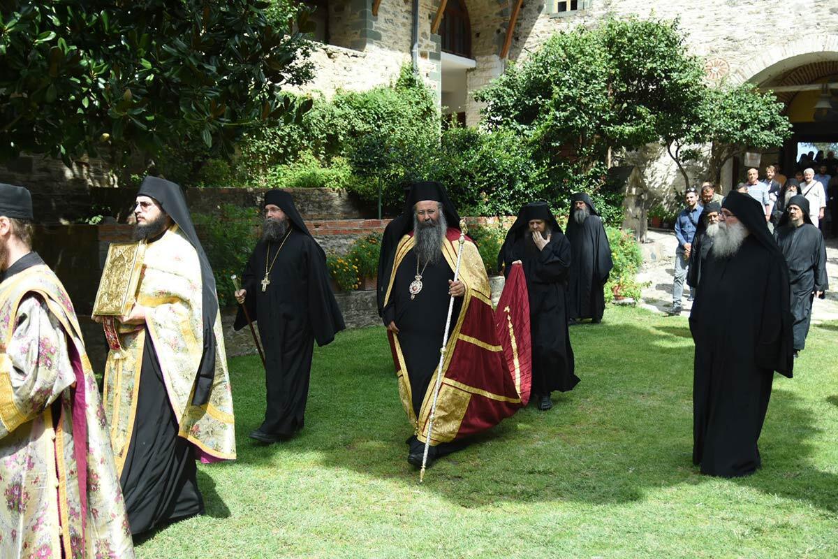 Πανήγυρη Ιεράς Μονής Φιλοθέου Αγίου Όρους Μητροπολίτης Κίτρους