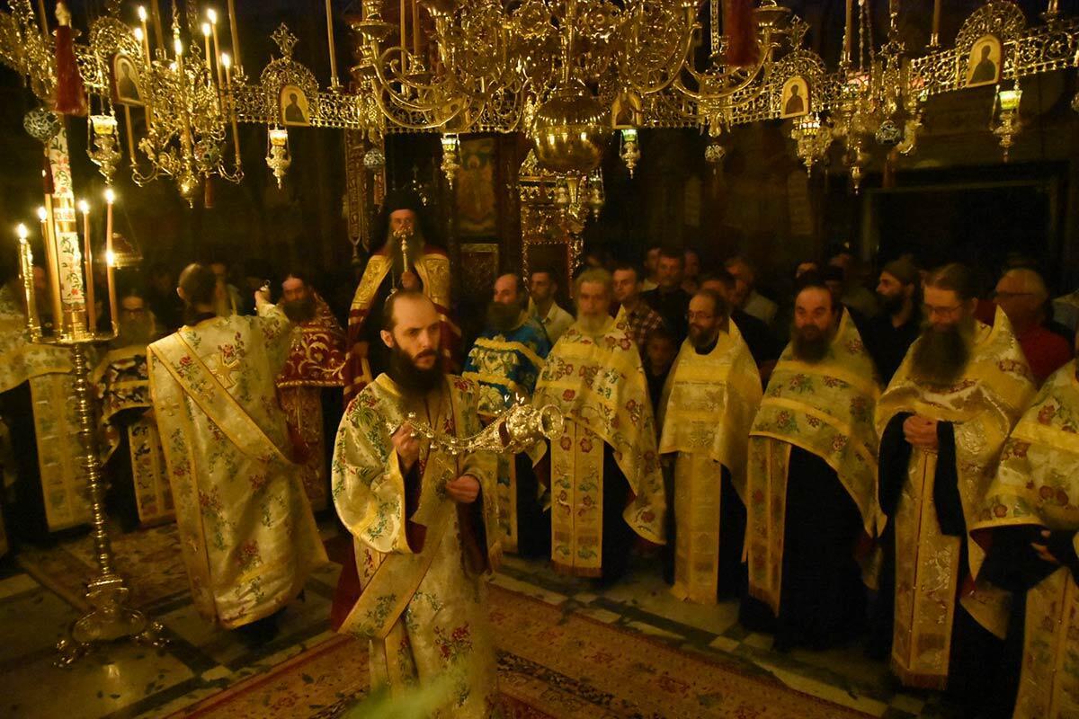 Πανήγυρη Ιεράς Μονής Φιλοθέου Αγίου Όρους