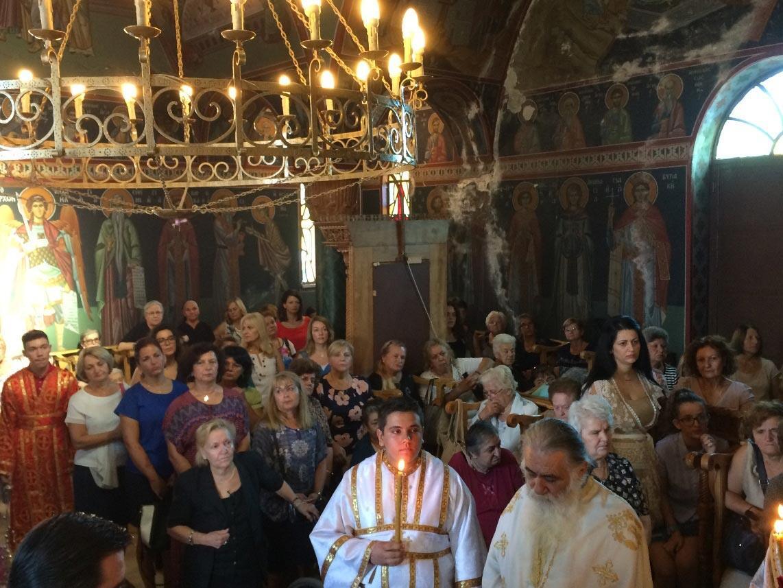 Πανήγυρη Ιερού Ναού Αγίας Σοφίας στον Σβορώνο Πιερίας