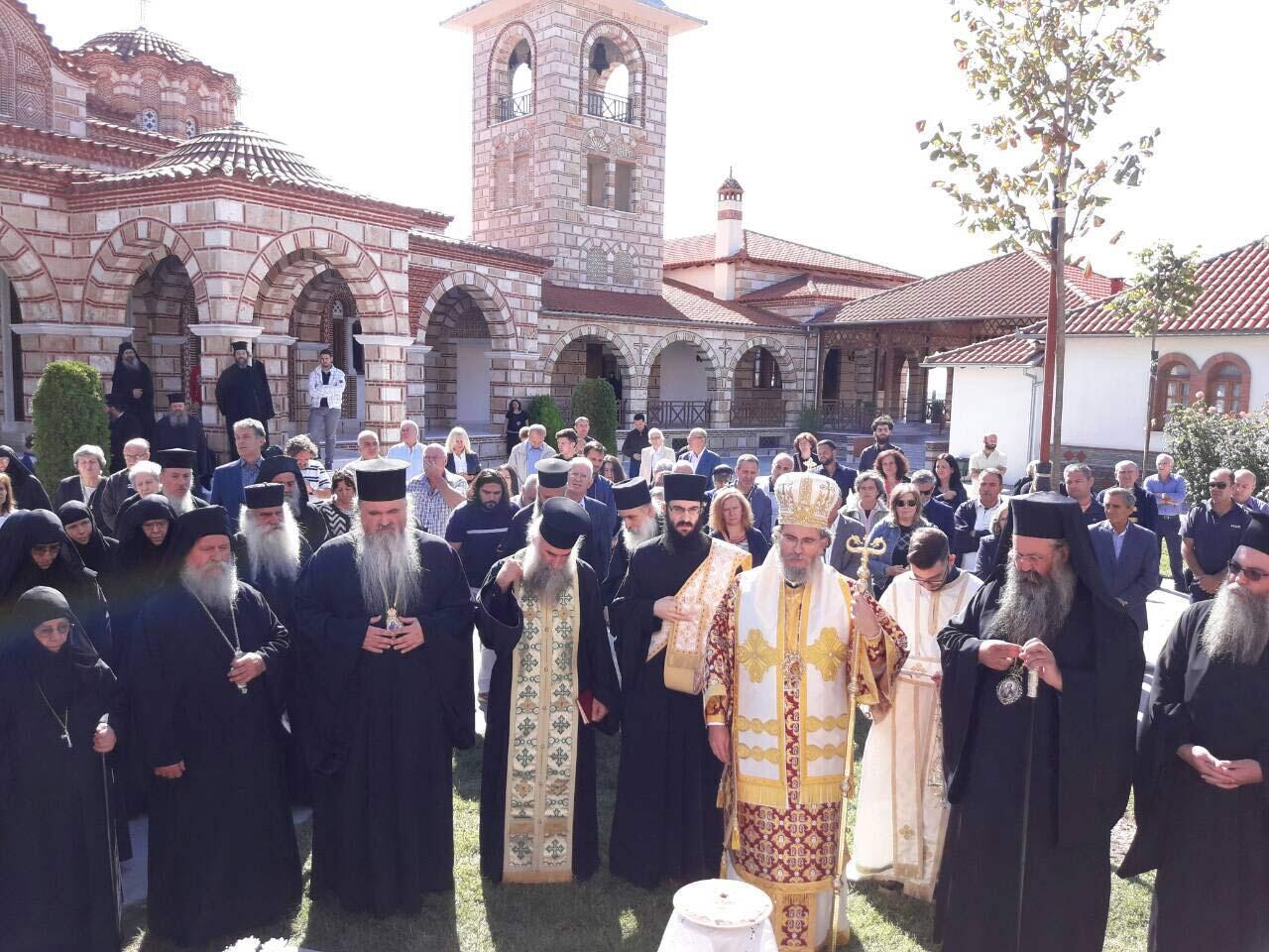 Ετήσιο Μνημόσυνο Αρχιμ. Αθηναγόρα Καραμαντζάνη