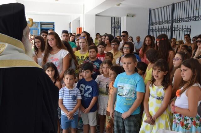 Μητρόπολη Σάμου: Ο Αγιασμός των Σχολείων στα ακριτικά νησιά