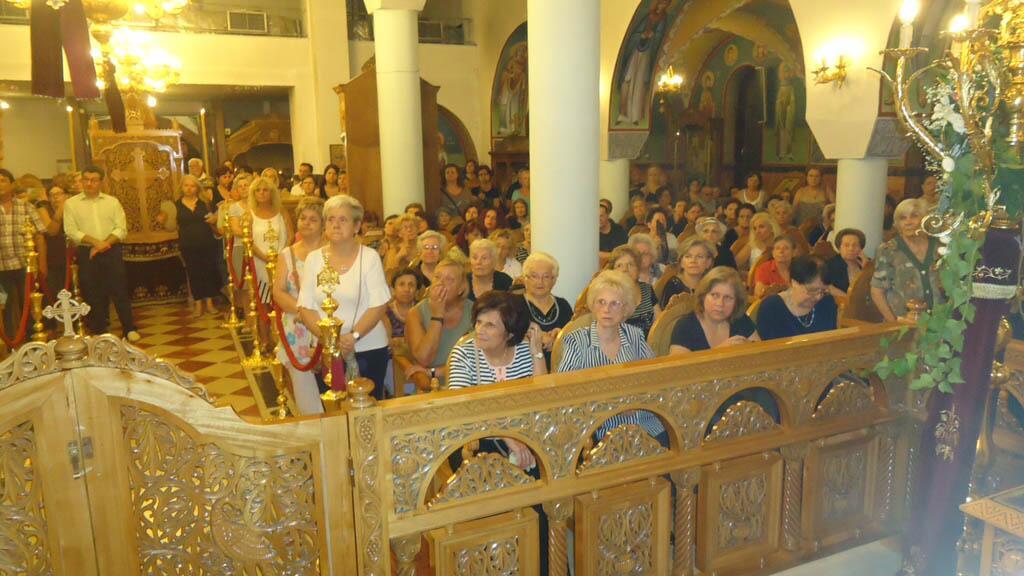Αρχιεπισκοπή Αθηνών: Λαμπροί Εορτασμοί στην Αγ. Σοφία Ταύρου