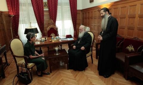 Για τη συνεργασία Αγγλικανικής Εκκλησίας με Εκκλησία της Ελλάδος μίλησε ο Αρχιεπίσκοπος με Βρετανίδα Πρέσβη