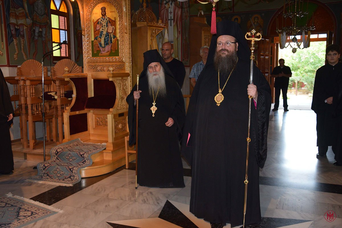 Εορτή του Αγίου Ανθίμου και ονομαστήρια Καθηγουμένου