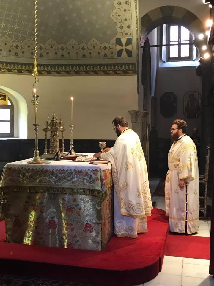 Οικουμενικό Πατριαρχείο: Ο Πατριαρχικός Επίτροπος χοροστάτησε στο Φανάρι