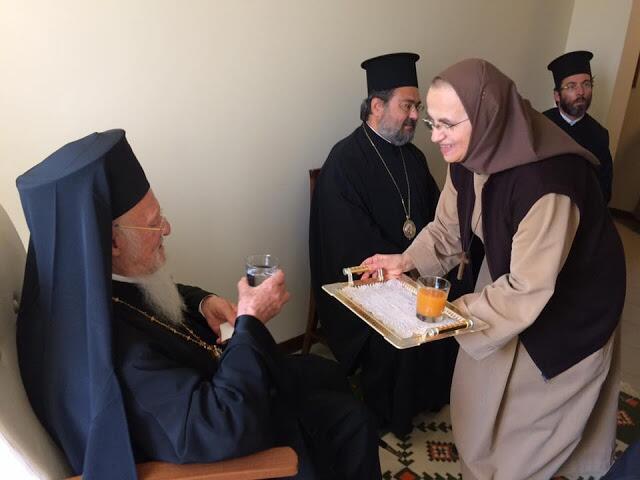 Ο Οικουμενικός Πατριάρχης στην Καθολική Μοναστική Κοινότητα Monte Sole