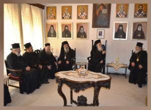 Μητρόπολη Πρεβέζης: Η Επίσκεψη του Αρχιεπισκόπου Αλβανίας