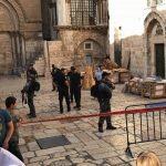 Πανάγιος Τάφος: Έπεσε την Παρασκευή τμήμα της οροφής του Ναού της Αναστάσεως
