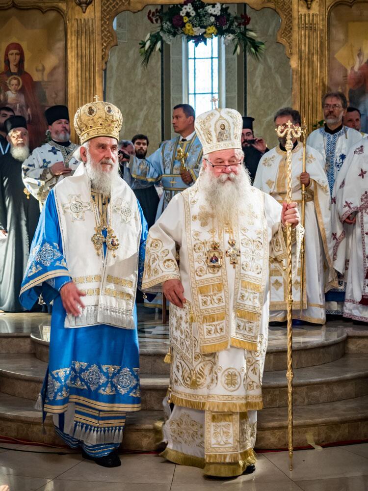 Πατριαρχείο Σερβίας: Η ενθρόνιση του Μητροπολίτη Χρυσόστομου
