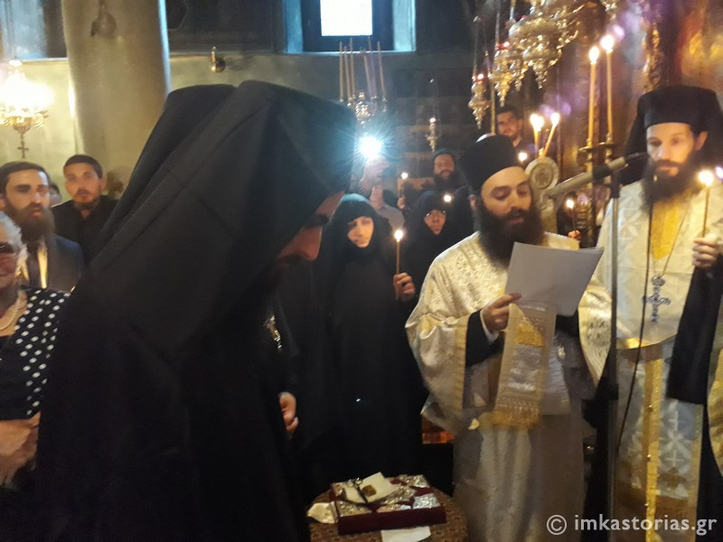 Μητρόπολη Καστοριάς: Κουρά του Μοναχού Νικάνορα στην Ιερά Μονή Αγίων Αναργύρων
