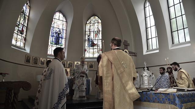 Μητρόπολη Βελγίου: Γενέθλιον Θεοτόκου και χειροτονία Διακόνου