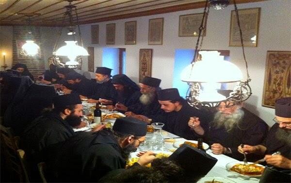 Άγιο Όρος: Η διατροφή των μοναχών