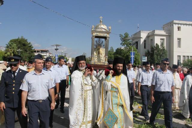 Απούσα η Κυβέρνηση από την υποδοχή της Παναγίας της Βουλκανιώτισσας στη Μεσσήνη