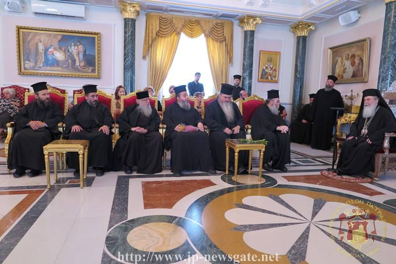 Πατριαρχείο Ιεροσολύμων: Τον Κισάμου Αμφιλόχιο υποδέχτηκε ο Πατριάρχης