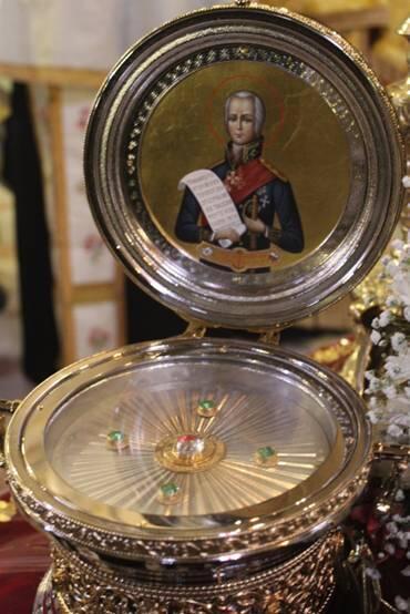 Η Μητρόπολη Κερκύρας υποδέχθηκε Τεμάχιο Λειψάνου του Αγίου Θεοδώρου Ουσακώφ