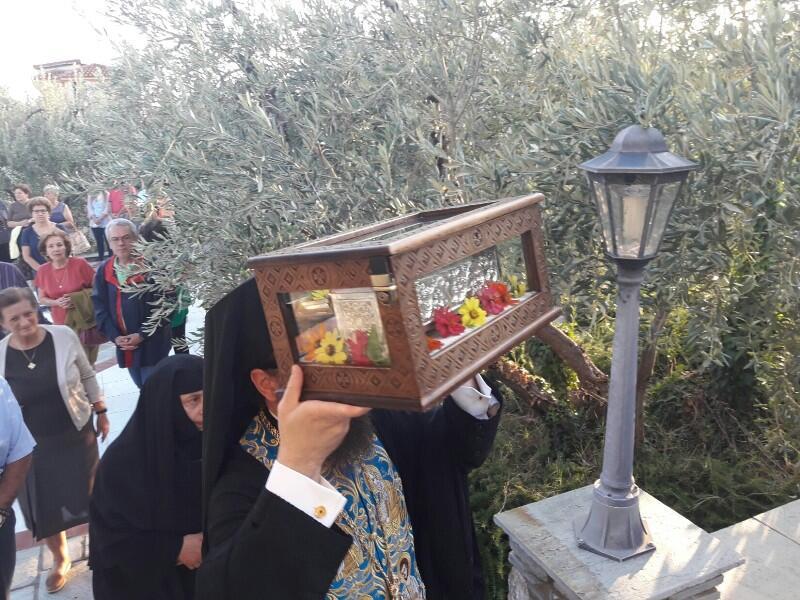 Βόλος: Στην πανήγυρη της Αγίας Ζώνης ο Γέροντας πρ. Πειραιώς Καλλίνικος