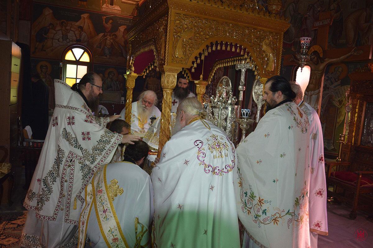 Εορτή Αγίου Ανθίμου και ονομαστήρια Καθηγουμένου