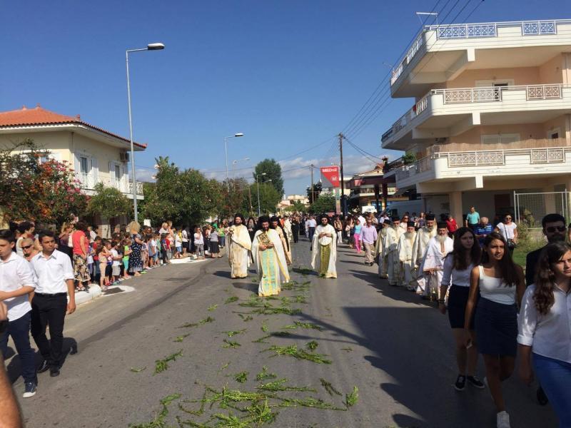 Λαμπρή υποδοχή στη Μεσσήνη για την Παναγία «Βουλκανιώτισσα»