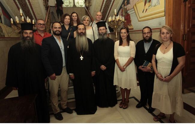 Ο Αρχιεπίσκοπος Ιερώνυμος υποδέχτηκε τα στελέχη των κατασκηνώσεων