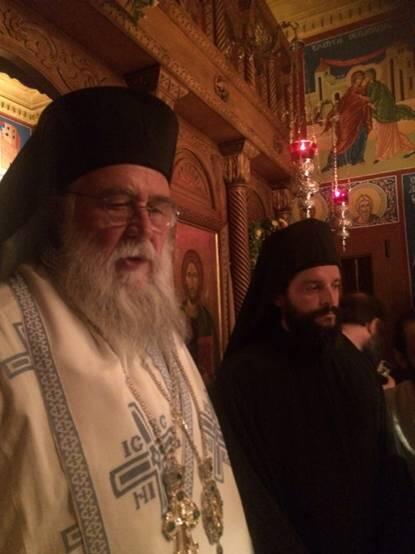 Κουρά δύο Μοναχών στη Μητρόπολη Κέρκυρας