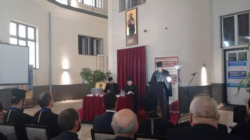 Με επιτυχία ολοκληρώθηκε το 23ο Διεθνές Συνέδριο της Εταιρείας του δικαίου των Ανατολικών Εκκλησιών