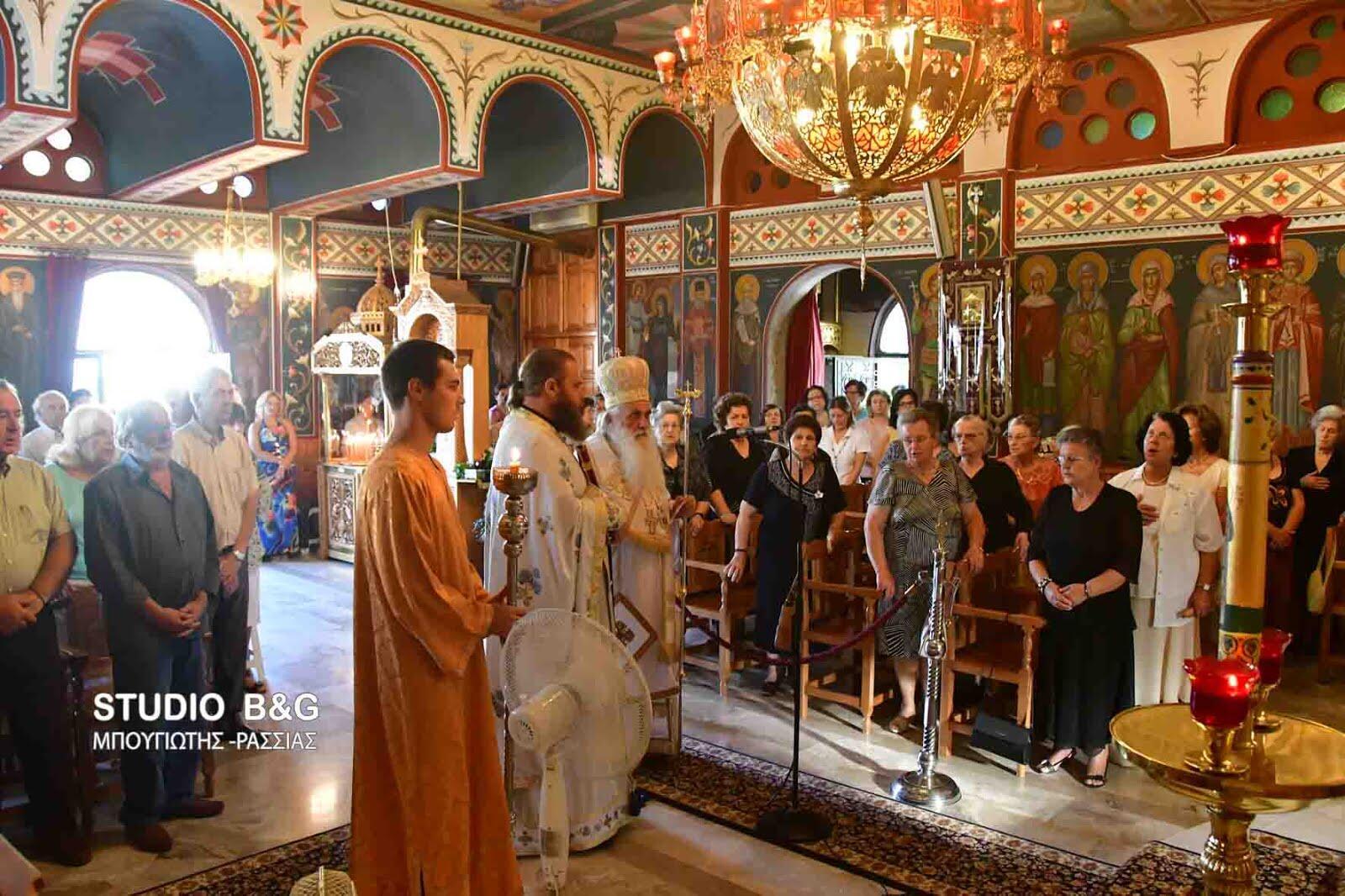 Μητρόπολη Αργολίδος: Ανακομιδή των Ιερών λειψάνων του Αγίου Νεκταρίου