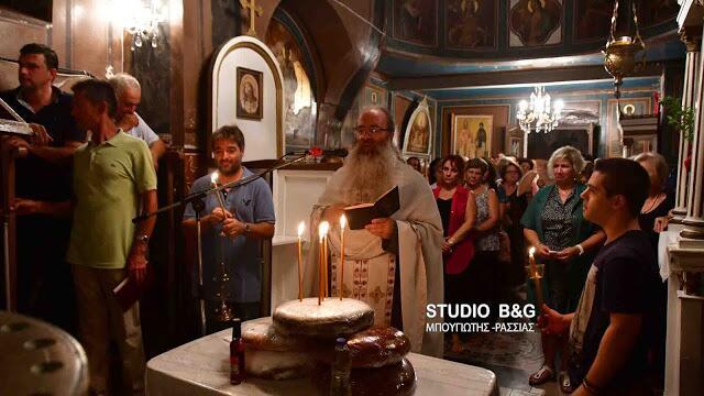 Μητρόπολη Αργολίδος: Ξεχωριστή εορτή της Αγίας Σοφίας στη βυζαντινή εκκλησία του Ψαρομαχαλά