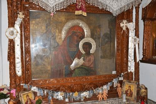 Έκτακτο: Έκλεψαν την εικόνα της Παναγίας απο τον Ιερό Ναό της Γέννησης της Θεοτόκου στη Λάρισα