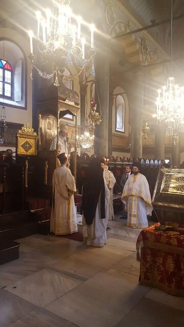 Οικουμενικό Πατριαρχείο: Η μνήμη της Αγίας Ευφημίας στον Πατριαρχικό Ναό