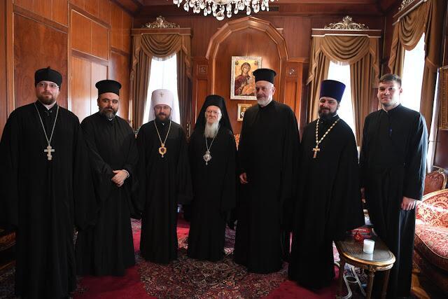 Οικουμενικό Πατριαρχείο: Η επίσκεψη του Μητροπολίτη Βολοκολάμσκ